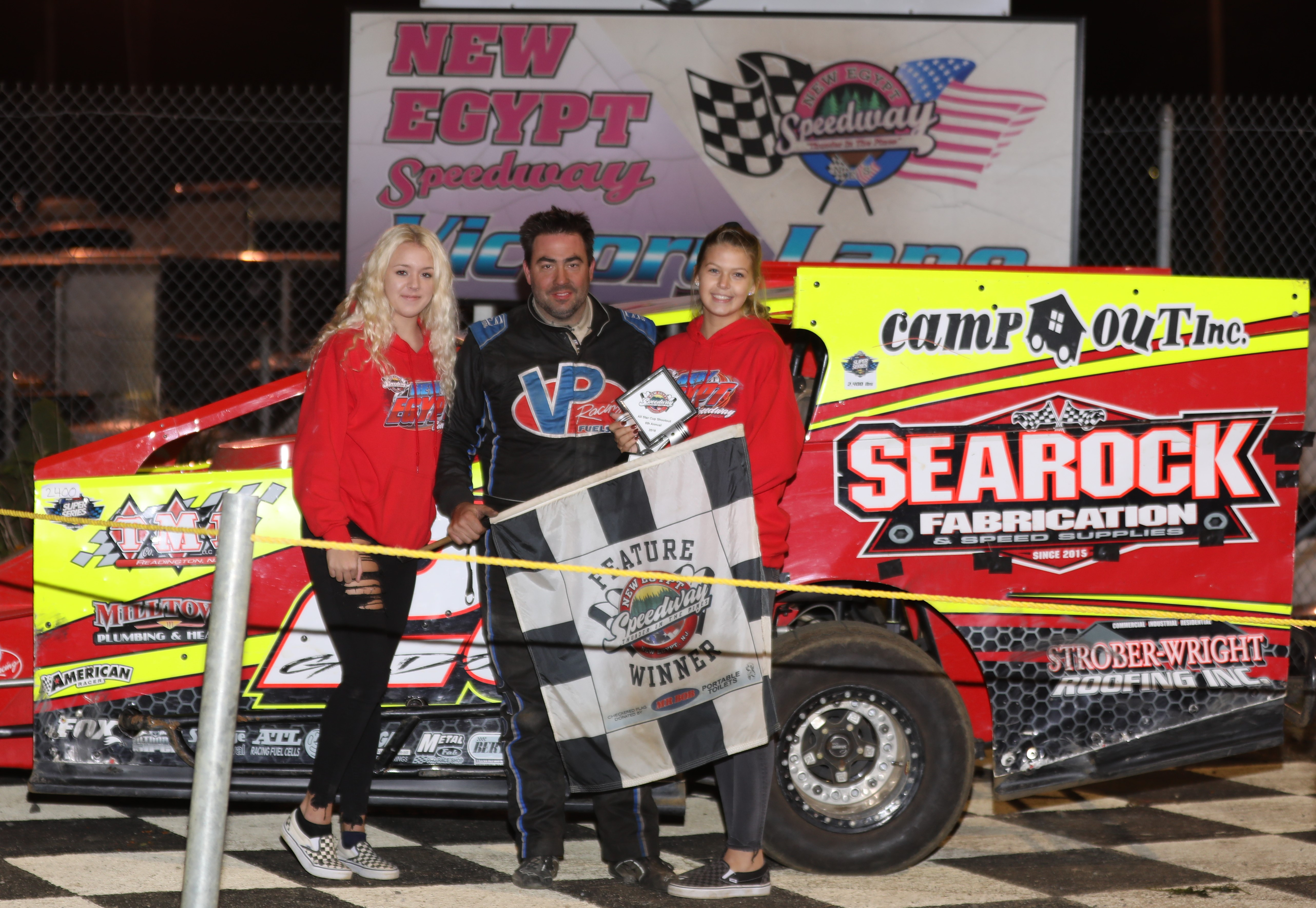 GODOWN ROCKETS TO VICTORY LANE AT NEW EGYPT SPEEDWAY'S ALL STAR CUP