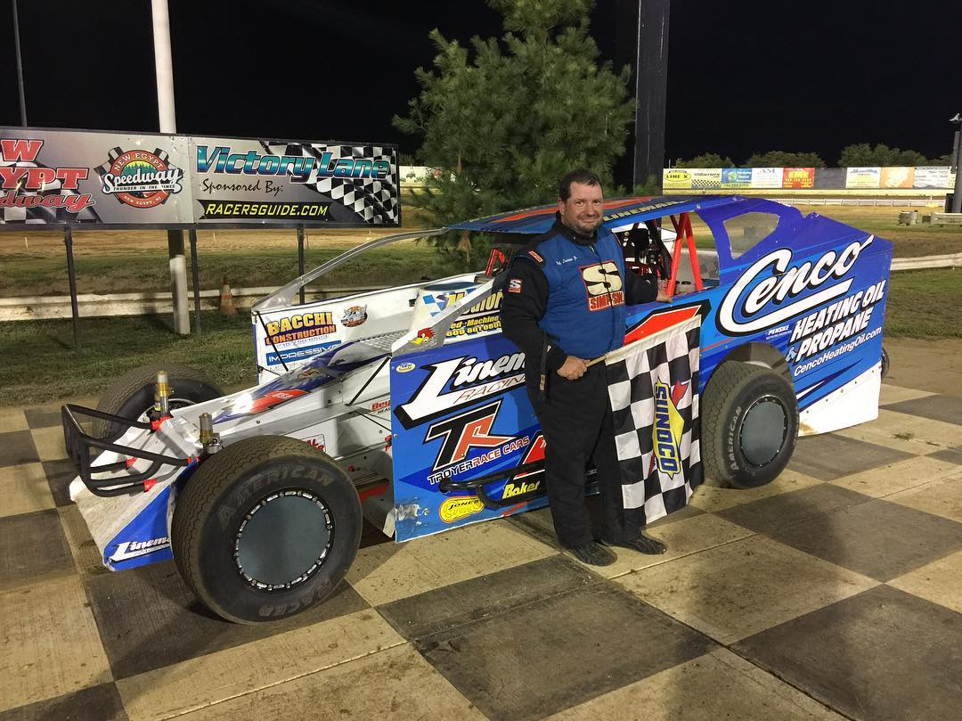 LINEMAN AND FLEMING WIN AGAIN AT NEW EGYPT SPEEDWAY