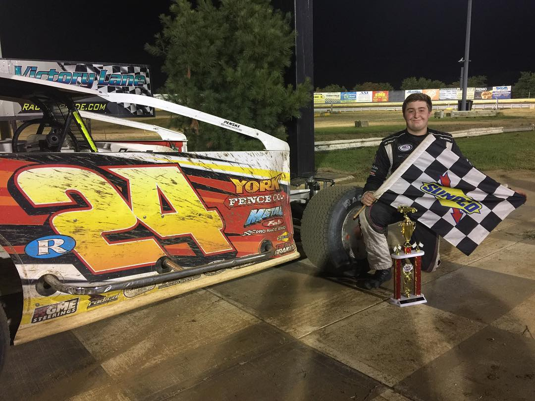 KUHL AND GROSSO COLLECT MODIFIED FEATURE VICTORIES AT NEW EGYPT SPEEDWAY