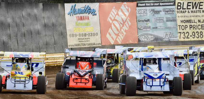TWIN 20-LAP FEATURES FOR THE MODIFIEDS AND MS MOTORSPORTS ARE ON TAP THIS WEEK AT NEW EGYPT SPEEDWAY