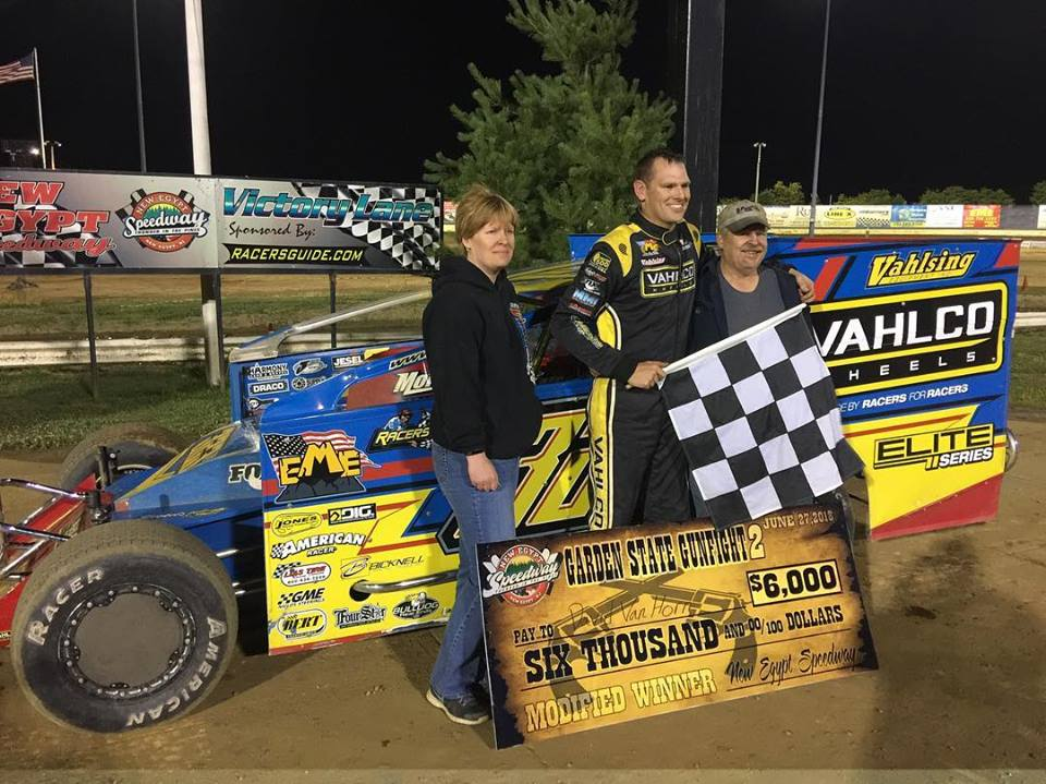 VANHORN AND ROSS ARE THE TOP GUNSLINGERS AT NEW EGYPT SPEEDWAY'S GARDEN STATE GUNFIGHT 2