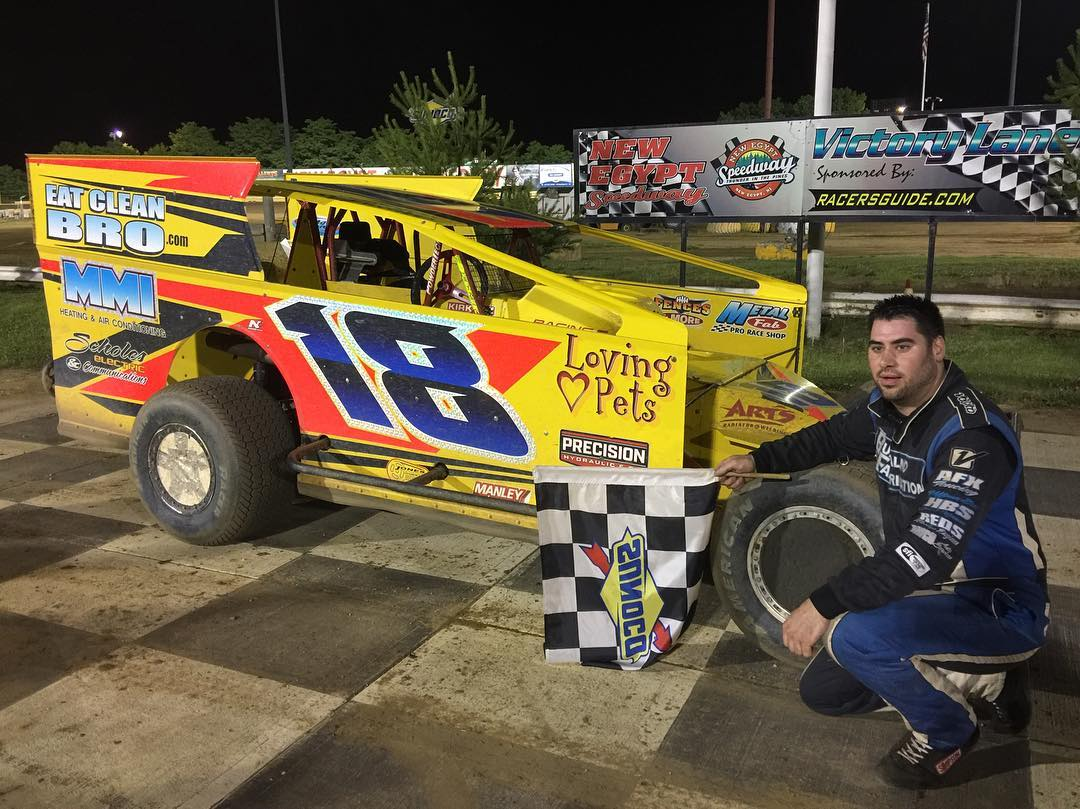 BACK-TO-BACK FOR BUFFALINO AT NEW EGYPT SPEEDWAY