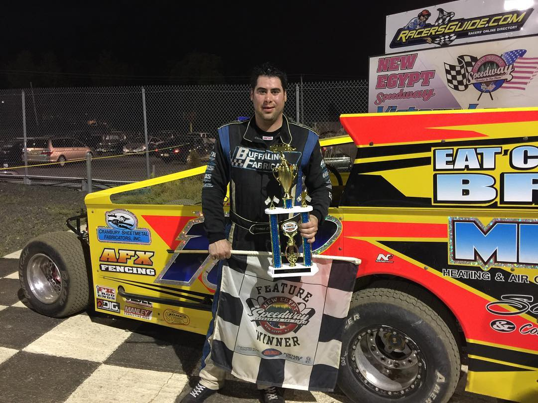BUFFALINO MARCHES TO HIS FIRST WIN OF THE SEASON AT NEW EGYPT SPEEDWAY