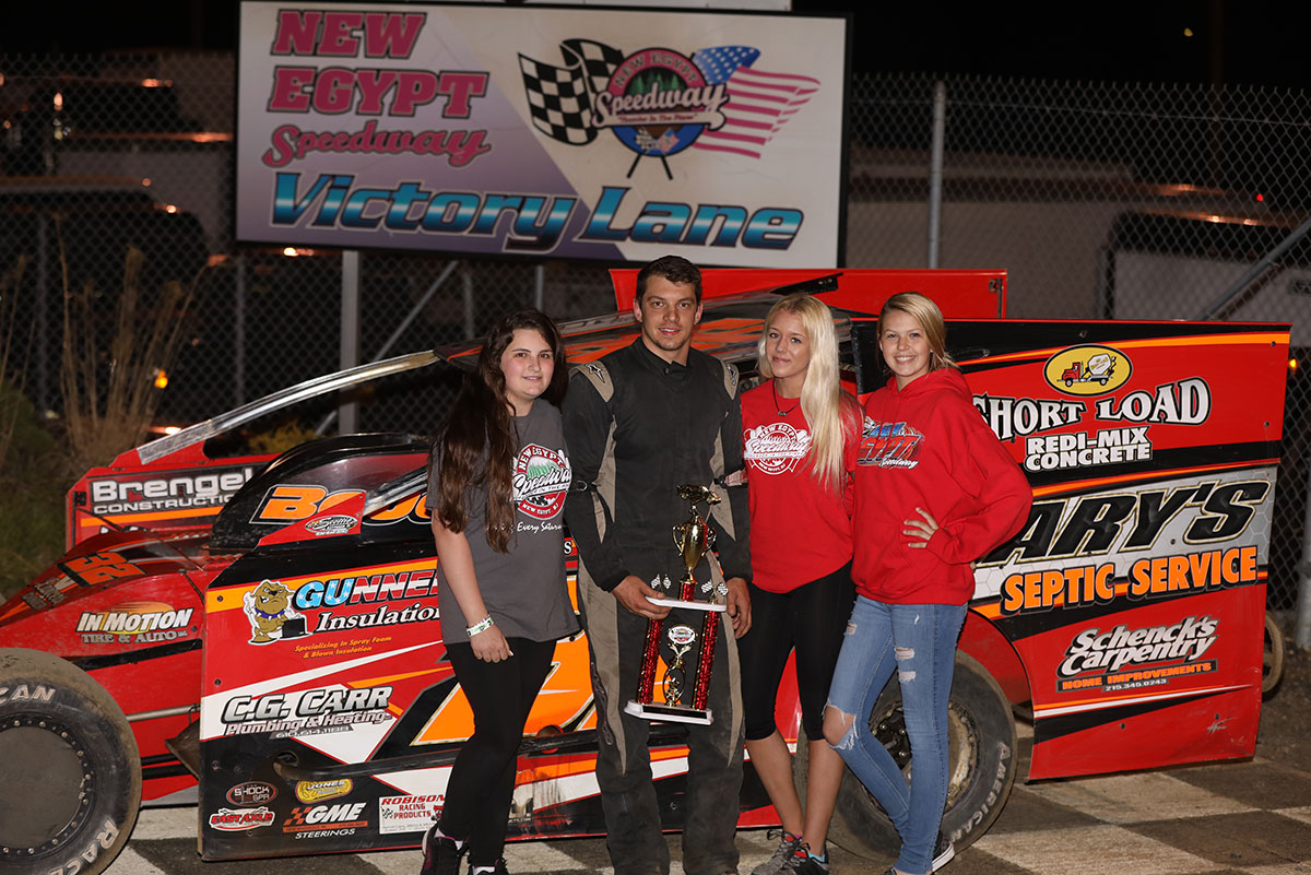 BOUC BESTS THE MODIFIED FIELD AT NEW EGYPT SPEEDWAY