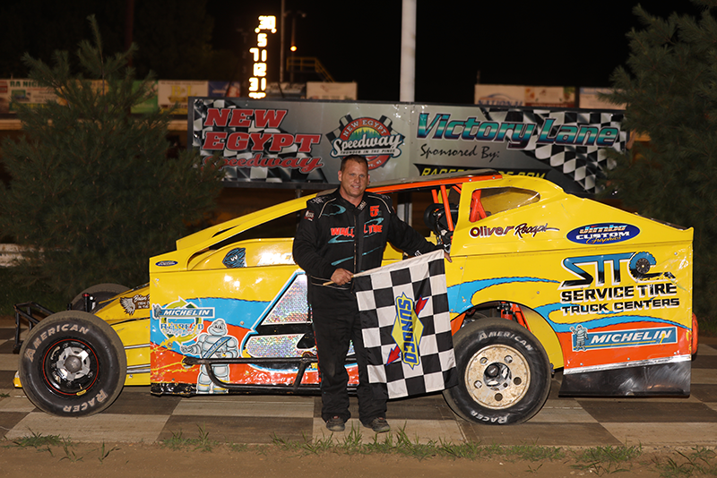 WALL WINS THE MR. SPORTSMAN CLASSIC AT NEW EGYPT SPEEDWAY